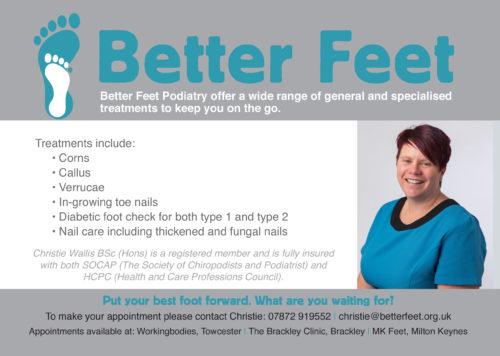 Christie Wallis Better Feet Podiatry