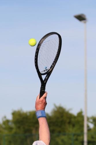Towcestrians Tennis A vs B - by  James Rudd