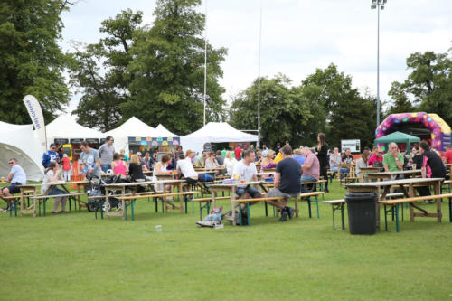 Tennis and Sausage and Cider Festival - by James Rudd